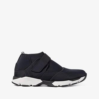 Marni High Top Neoprene Sneaker (Black) Men's Shoes