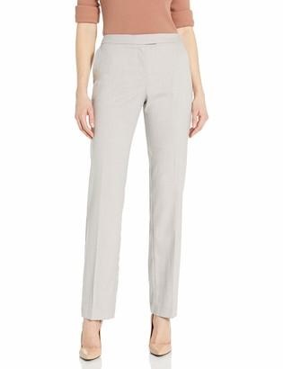 Jones New York Women's Mid Rise Straight Leg Sydney Pant