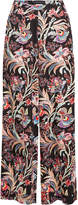 Etro Wide Leg Printed Pants