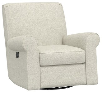 Pottery Barn Kids Small Charleston Swivel Glider & Recliner
