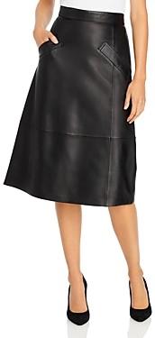 Kobi Halperin Emmy Leather Skirt