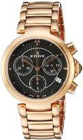 Edox Women's 10220 37RM NIR LaPassion Analog Display Swiss Quartz Rose Gold Watch