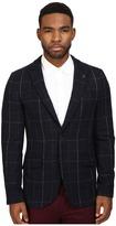 Scotch & Soda Classic Blazer with Peak Lapel in Wool Quality
