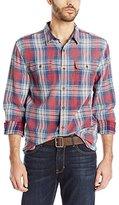Lucky Brand Men's Jon Indigo Workwear Shirt