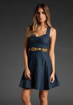 Denim Gold Dress
