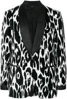 Tom Ford printed dinner jacket