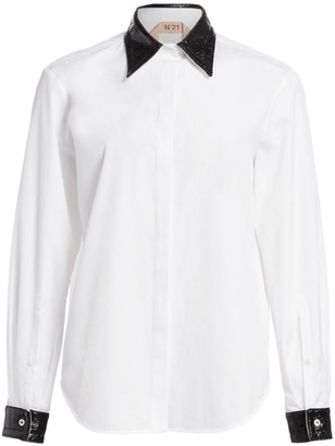 No.21 Patent Collar Shirt