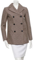 Marni Floral Print Double-Breasted Coat