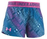 Under Armour Little Girl's Wordmark Playup Shorts