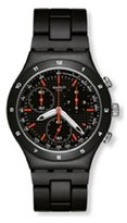 Swatch Men's Irony YCB4019AG Aluminum Swiss Quartz Watch with Dial