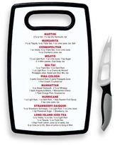 Oggi Oggi™ Cocktail Cutting Board with Knife