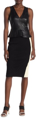 Rachel Roy Colorblock Knit Pencil Skirt