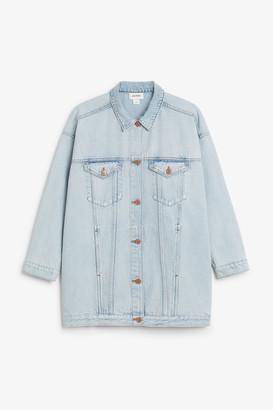 Monki Oversized denim jacket