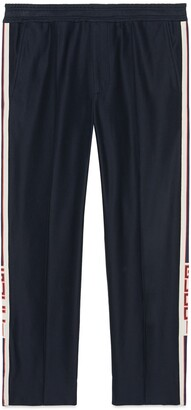 Gucci Track bottoms with stripe