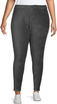 Calvin Klein Plus Stretch Corduroy Leggings