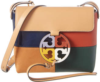 Tory Burch Miller Colorblocked Leather Crossbody