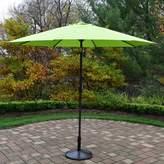 Oakland Living 9 ft. Outdoor Umbrella & Umbrella Stand
