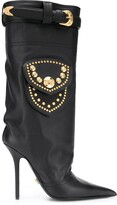 Versace mid-calf 120mm boots