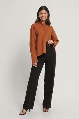 Manon Tilstra X NA-KD Side Pocket Wide Leg Suitpants