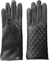 Joe Fresh Women's Pleather Gloves, Black (Size S/M)