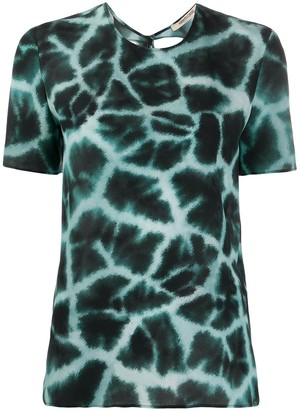 Roberto Cavalli tie dye T-shirt
