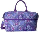 Vera Bradley Luggage - Lighten Up Expandable Travel Bag Weekender/Overnight Luggage