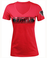 5th & Ocean Women's Atlanta Falcons Touchback LE T-Shirt