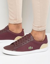 Lacoste Lerond Canvas Trainers