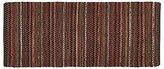Crate & Barrel Pinstripe Copper 2.5'x6' Rug Runner