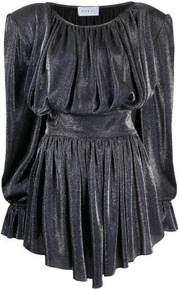 NERVI Betty lurex cocktail dress