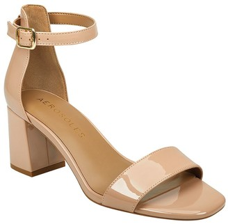Aerosoles Ankle Strap Leather Sandals - Elba