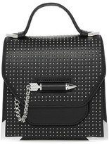 Mackage Rubie-St Studded Structured Leather Shoulder Bag In Black