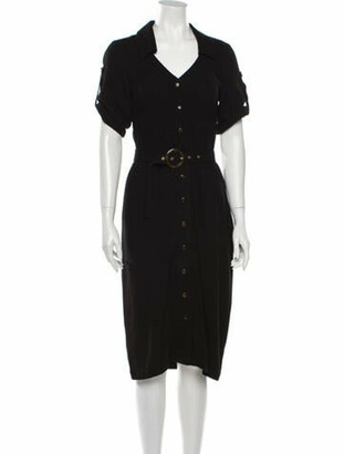 USISI SISTER Midi Length Dress w/ Tags Black Midi Length Dress w/ Tags