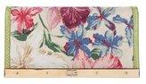 Dolce & Gabbana Snakeskin-Trimmed Canvas Clutch