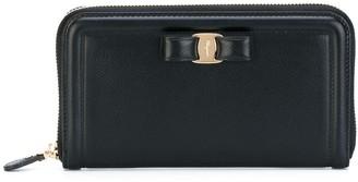 Salvatore Ferragamo zip-around Vara bow wallet