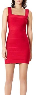 Herve Leger Icon Bandage Mini Dress