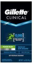 Gillette Clinical Sport Clear Gel Antiperspirant & Deodorant Power Rush