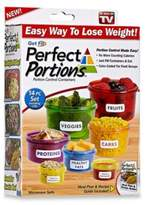 As Seen on TV Get Fit Perfect PortionsTM 14-Piece Portion Control Food Container Set