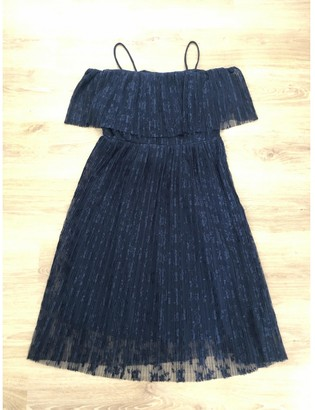 Whistles Navy Lace Dress for Women