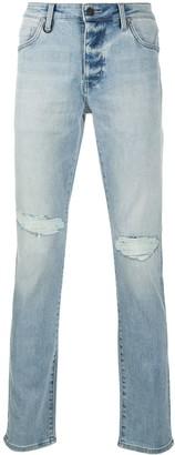 Neuw Low-Rise Straight Leg Jeans