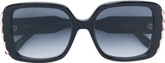 Elie Saab Oversized Square Sunglasses