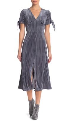 J.o.a. Velvet Midi Dress