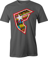 Famous Stars & Straps Men's Comic Graphic-Print Logo Cotton T-Shirt
