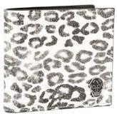 Alexander McQueen Leopard Bifold Wallet