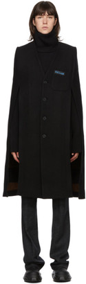 Raf Simons Black Labo Cape Coat