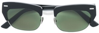 Acne Studios Half Frame Sunglasses