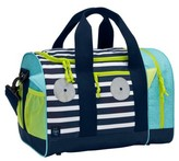 Lassig Toddler Mini Sports Bag With Glow-In-The-Dark Eyes - Blue