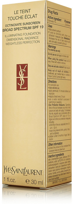 Yves Saint Laurent Beauty Le Teint Touche Éclat Illuminating Foundation - Beige 90, 30ml