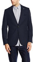 Gant Men's The Herringbone Long Sleeve Blazer,(Manufacturer Size:48)