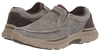 Skechers Relaxed Fit Expended - Relfen (Brown) Men's Shoes